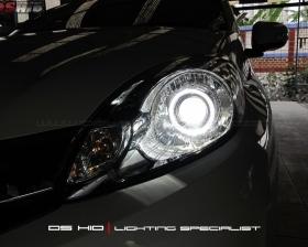 DS Projector Bixenon + DS HID 6000K + Angel Eyes ( Headlamp ) DS HID 6000K + DRL Honda Mobilio ( Foglamp )