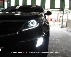 DS HID 6000K ( Low Beam + Foglamp ) Angel Eyes