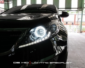 DS HID 6000K ( Low Beam + Foglamp ) Angel Eyes