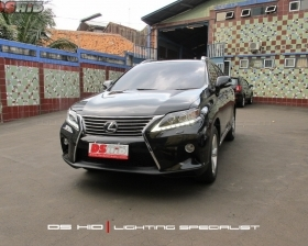 Facelift Lexus RX