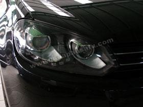Headlamp Projector Bixenon VW Golf MK6 + DS HID 6000K ( Headlamp ) DS HID 6000K ( Foglamp )