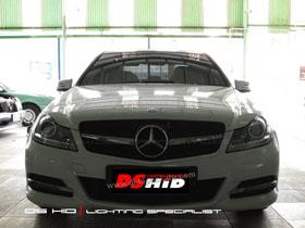 Headlamp C Class DS Version + DS HID 6000K ( Headlamp ) DRL C Class W204