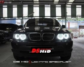 Angel Eyes BMW X5 DS HID 6000K ( Foglamp )