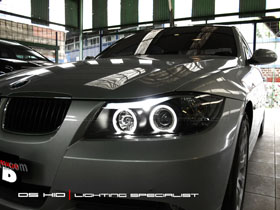 Headlamp BMW E90