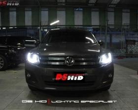 Headlamp DS Version VW Tiguan + DS HID 6000K