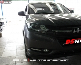 Headlamp Honda HRV Prestige DS HID 6000K + DRL Honda Prestige ( Foglamp )