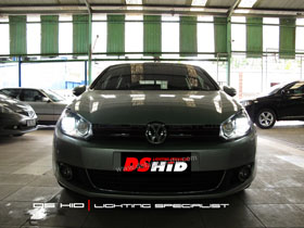 Headlamp VW Golf DS Version + DS HID