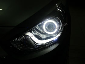 DS Projector Bixenon + DS HID 4300K + Angel Eyes ( Headlamp ) DS HID 3000K ( Foglamp )