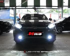 DS Projector Bixenon + DS HID 6000K + Angel Eyes + LED Strip ( Headlamp ) DS HID 6000K ( Foglamp )