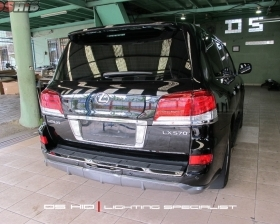 Facelift Lexus LX 570 to 2013 model  DS HID 4300K ( Low Beam + Foglamp )