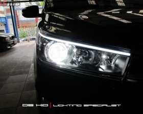DS Projector AFS + DS HID 6000K + Angel Eyes + LED Strip ( Headlamp ) DS HID 6000K ( Foglamp )