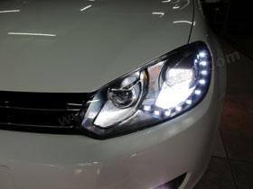 Headlamp Golf MK6  DS HID 6000K ( Low Beam + Foglamp )