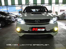 DS HID 6000K ( Low Beam ) DS HID 3000K ( Foglamp )
