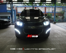 DS HID 6000 + DRL Chevrolet Captiva