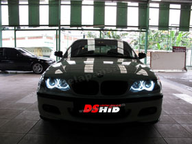DS Projector Bixenon + DS HID 4300K + Angel Eyes ( Headlamp )