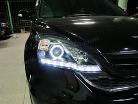 Headlamp CRV DS Version + DS HID 6000K ( Headlamp ) DS HID 6000K ( Foglamp )