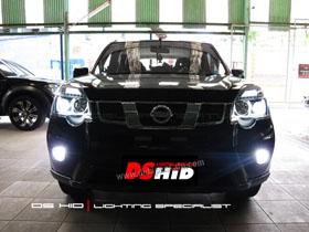 Headlamp Nissan X-Trail DS Version + DS HID 6000K ( Headlamp ) DS HID 6000K ( Foglamp )