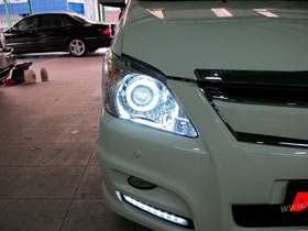 DS Projector Bixenon + New DS HID V1 6000K + Angel Eyes