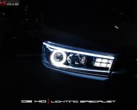 Angel Eyes + LED Strip