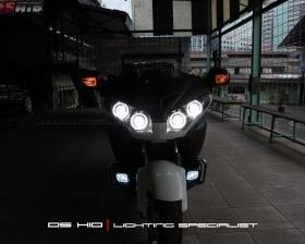 DS Projector Bixenon + DS HID 4300K + Angel Eyes + Blackhousing