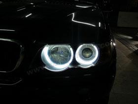 DS Projector Bixenon + DS HID 4300K + Angel Eyes