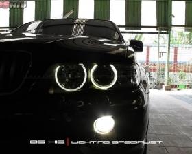 Angel Eyes BMW X5 DS HID 4300K ( Foglamp )