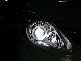 DS Projector Bixenon + New DS HID V1 6000K + Angel Eyes putih ( Headlamp ) New DS HID V1 3000K ( Foglamp )