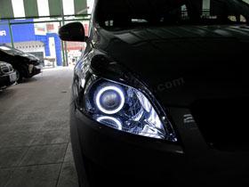 DS Projector Bixenon + New DS HID 6000K + Angel Eyes ( Headlamp ) New DS HID V1 6000K ( Foglamp )