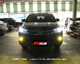 DS HID 6000K + LED Strip ( Headlamp ) DS HID 3000K ( Foglamp )