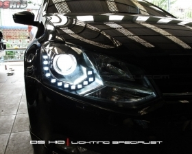 Headlamp DS Version VW Polo + DS HID 6000K