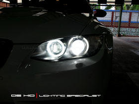 Replacement Bulb 6000K + Angel Eyes Replacement Bulb BMW