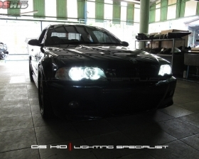 DS HID Replacement Bulb 6000K + Angel Eyes BMW E46