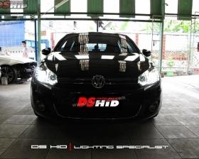 Headlamp VW Golf Mk6 DS Version + DS HID 6000K