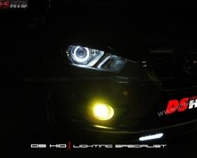 DS Projector Bixenon + DS HID 8000K + Angel Eyes ( Headlamp ) DS HID 3000K ( Foglamp )