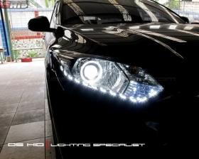 DS Projector Bixenon + DS HID 6000K + Angel Eyes LED + LED Strip