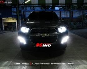 DS HID 6000K ( Low Beam + Foglamp ) DRL Chevrolet Captiva