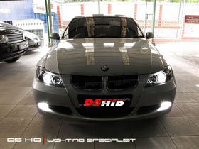 Headlamp BMW E90 DS HID 6000K ( Low Beam + Foglamp )