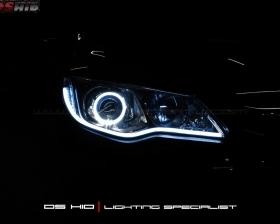 DS Projector Bixenon + DS HID 6000K + Angel Eyes + LED Strip