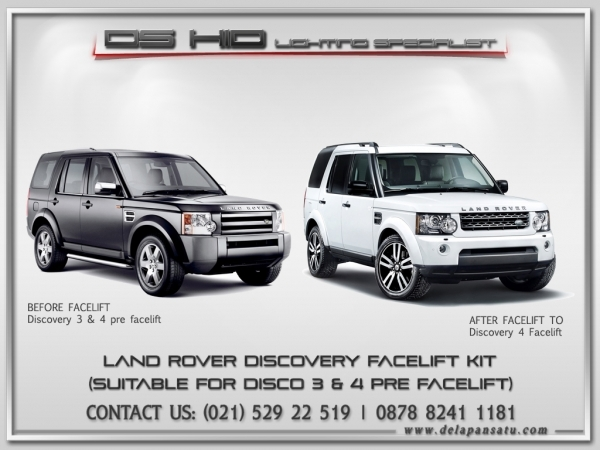 Conversion / Facelift Parts - LAND ROVER DISCOVERY To 2016 Model