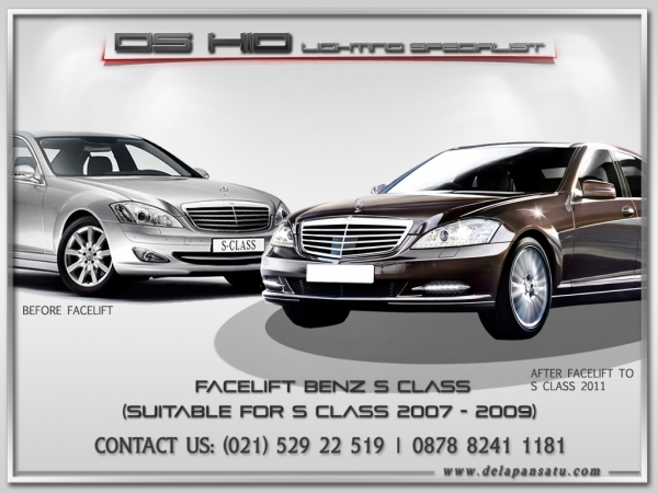 Conversion / Facelift Parts - Mercedes Benz S Class W221 2006-2009 to 2010+