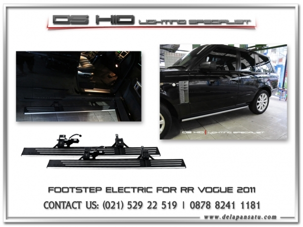Conversion / Facelift Parts - Footstep Electric Range Rover Vogue 2006-2012