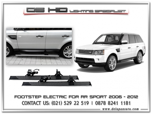 Conversion / Facelift Parts - Footstep Electric Range Rover Sport 2006-2012