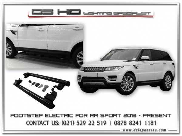 Conversion / Facelift Parts - Electric Footstep Range Rover Sport