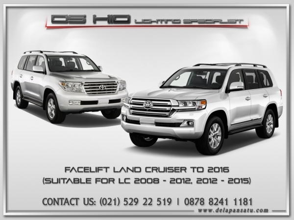 Conversion / Facelift Parts - Toyota Land Cruiser To 2021