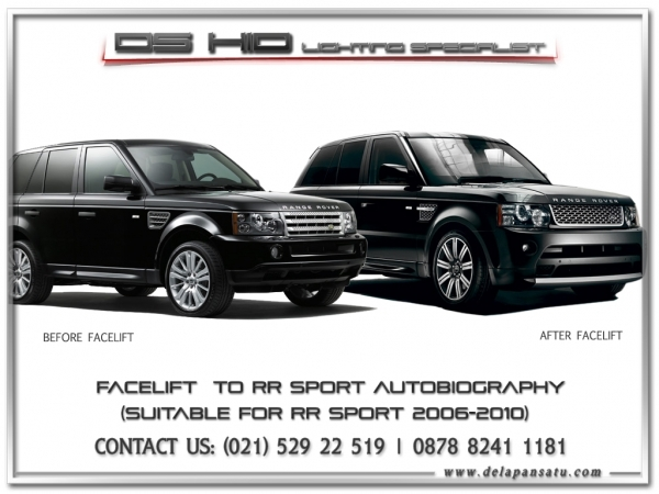Conversion / Facelift Parts - RANGE ROVER SPORT TO 2010+ AUTOBIOGRAPHY