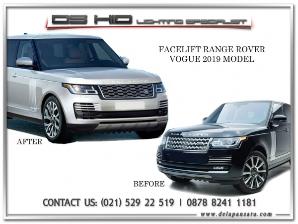 Range Rover Vogue To 2019 Model
