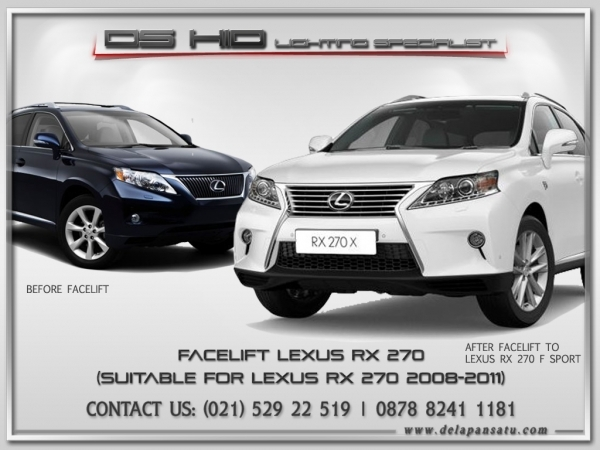 Conversion / Facelift Parts - Lexus RX