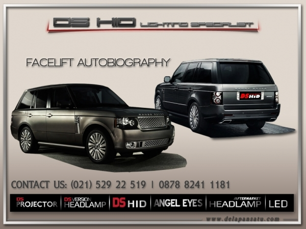 Range Rover Vogue 2002-2009 To 2010+ Autobiography