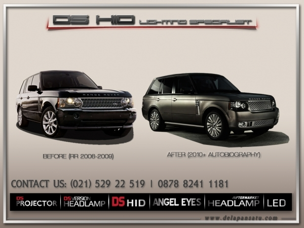 Conversion / Facelift Parts - Range Rover Vogue 2002-2009 To 2010+ Autobiography