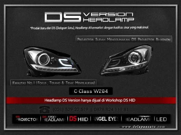 DS Headlamp - MERCEDES BENZ C Class W204